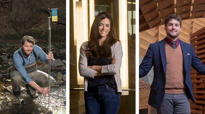 Three images -- Ted Grantham, Ellen Bruno, and Dan Sanchez