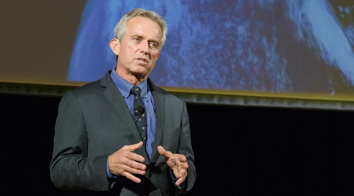 Robert F. Kennedy Jr. delivering the Albright Lecture