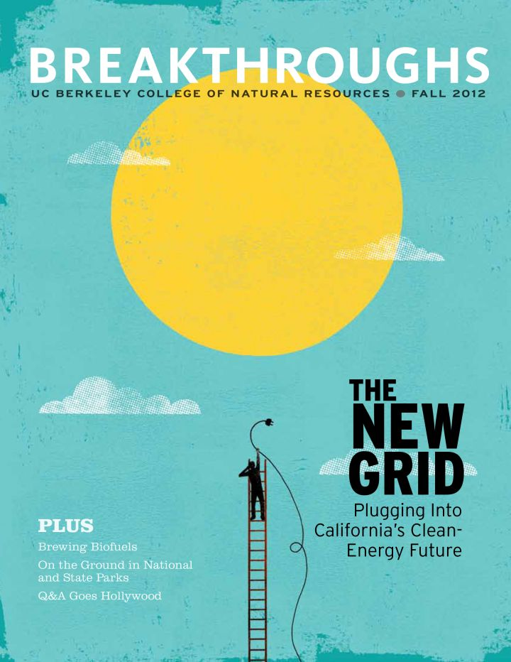 Breakthroughs Fall 2012 issue dealing with California's clean energy future